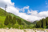 Tien Shan Mountains in Almaty — Stock Photo