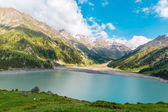 Spectacular scenic Big Almaty Lake — Stock Photo