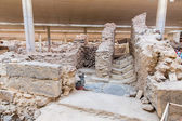 Ruins in Fira town — Stock Photo