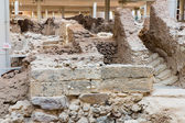 Archaeological site in Fira town — Stock Photo