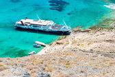 Gramvousá ö nära crete, grekland — Stockfoto