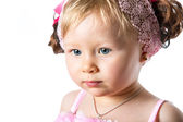 Cute child girl — Stock Photo