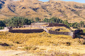 Ancient Inca fortress — Stock Photo