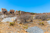 Remains of Venetian fort — Stock Photo