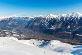Ski resort Bad Gastein — Stock Photo