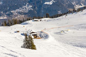 Ski resort Bad Gastein — Stockfoto