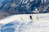 Chairlift in ski resort Bad Gastein — Stock Photo