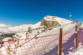 Ski resort Bad Gastein in mountains, Austria — Stockfoto