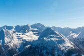 Ski resort Bad Gastein, Land Salzburg, Austrian alps — Foto de Stock