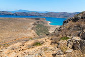 Gramvousa island in Crete, Greece — Stock Photo