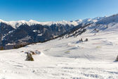Ski resort Bad Gastein, Land Salzburg, Austrian alps — Stock Photo