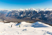 Ski resort Bad Gastein in mountains, Austria — Foto de Stock