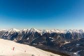 Ski resort Bad Gastein in mountains, Austria — Stock Photo