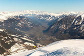 Ski resort Bad Gastein in mountains, Austria — Stock Photo