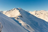 Ski resort Bad Gastein, Land Salzburg, Austrian alps — Stock fotografie