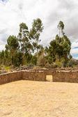 Wiracocha tempel peru ruïne — Stockfoto