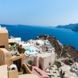 View of Fira town - Santorini island, Crete, Greece. — Stock Photo