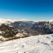 Ski resort Bad Gastein in winter snowy mountains, Austria, Land Salzburg,  Austrian alps - nature and sport background — Stock Photo #46418843