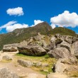Panorama of Mysterious city - Machu Picchu, Peru,South America — Stock Photo #46418967