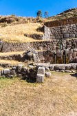 Tambomachay - archaeological site in Peru, near Cuzco — Stock Photo