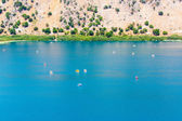 Freshwater lake in village Kavros in Crete island, Greece — Stock Photo