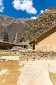 Ollantaytambo, Peru, Inca ruins  and archaeological site in Urubamba, South America — Stock Photo