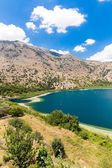 Freshwater lake in village Kavros in Crete — Stock Photo