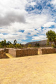 Ruin of Temple of Wiracocha in Peru — Stock Photo