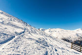 Ski resort Bad Gastein in Austrian alps — Stock Photo