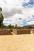 Ruin of Temple of Wiracocha at Chacha — Stock Photo