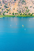 Freshwater lake in village Kavros in Crete — Stock Photo