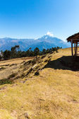 Sacred Valley in Andes mountains — Stock Photo