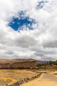 Raqchi, Inca archaeological site in Cusco, Peru — Stock Photo