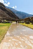 Peru, Ollantaytambo-Inca ruins of Sacred Valley — Stock Photo