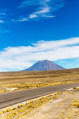 The Andes, Road Cusco- Puno, Peru — Stock Photo