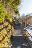 Ski resort town Bad Gastein,  Austrian alps — Stock Photo
