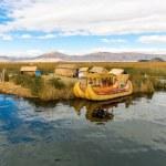 ������, ������: Floating Islands on Lake Titicaca Puno Peru