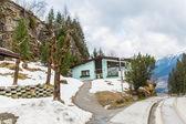 Ski resort — Stock Photo