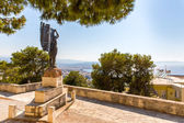 Monuments and sculptures Greece — Stock Photo
