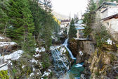Waterfall in Bad Gastein — Stock Photo