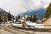 Ski resort town — Photo