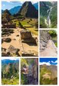 Mysterious city - Machu Picchu, Peru,South America. — Foto de Stock
