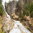 Waterfall in Ski resort, Bad Gastein, Austria — Stock Photo #48888341