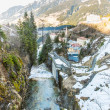 Waterfall in Ski resort, Bad Gastein, Austria — Stock Photo #48888777