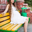 Pregnant woman — Stock Photo #49620569