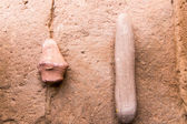 Ancient  stone  sculptures — Stock Photo