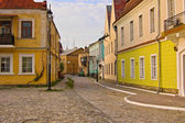 A street in old town — Stock Photo