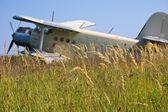 A biplane — Stock Photo