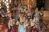 Indonesia dolls for theatre — Stock Photo