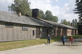 Poland Auschwitz — Stock Photo